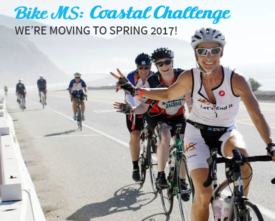 Bike MS: Coastal Challenge -- We're moving!